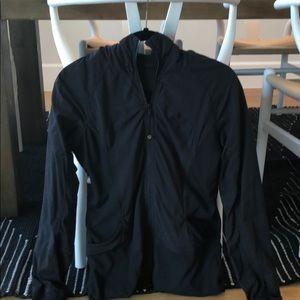 Lululemon Tight Fit Zip Jacket Black Size 10